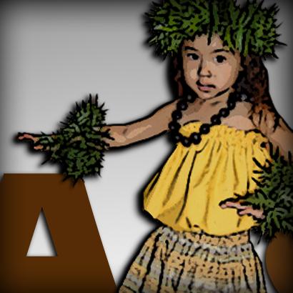 hula girl LOGO